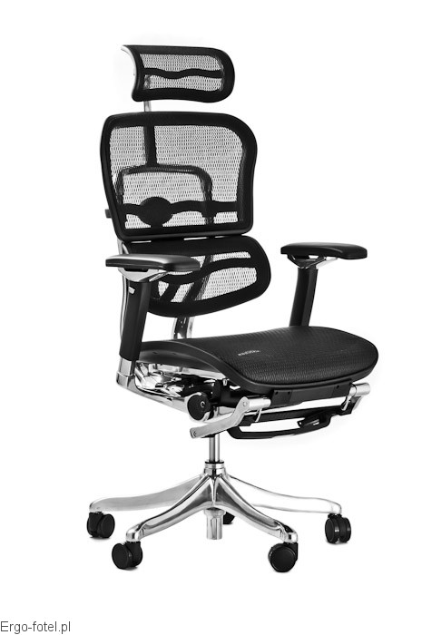 Fotel biurowy Ergomax Ergohuman Comfort PLUS - siatka